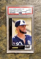 2019 Topps X Gary Vee Fernando Tatis Jr. PSA 10 RC H4 LOW POP!!