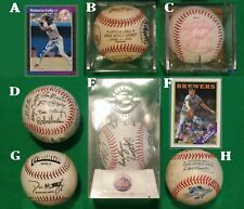 Autographed Baseballs, Cards and OTHERS as well as Facsimiles