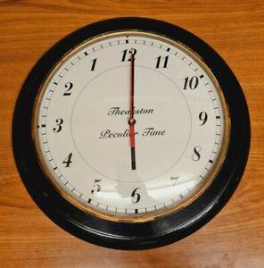 Teakston Leculiur Time Wall Clock