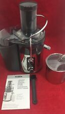 NEW BELLA 5-Speed Digital Juice Station Juicer Stainless Steel 1000 Watt Motor