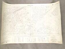 County Map Vintage Original Antique Sheet Maps