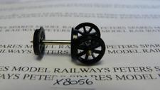 Hornby X8056 Spoked 12.6mm Plastic Wagon Wheel & Axle (Pk2)