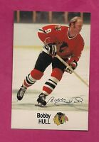1988-89 CHICAGO HAWKS BOBBY HULL  ESSO NRMT-MT  CARD (INV# A2334)