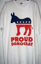 Adult Unisex Gildan Proud Democrat T-Shirt. New without tags. Excel Price!!!