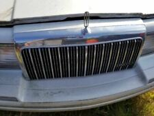 NEW Replica Single Silver Outside Grille Fits 1993-94 Lincoln Town Car F3VY8200C