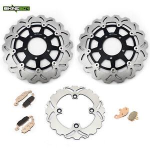 Wotefusi Motorcycle Rear Brake Disc Rotor For Kawasaki ZX6R ZX6RR ER6N ER6F KLE650 2007-2009 2008 Z750 2004-2006 2005 ZX9R ZX10R Z1000 2003-2006