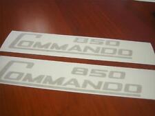 Norton Commando 850 Sidecover Stickers **Gold**