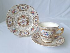 Vintage Pretty Chintz China Tea Trio - Cup, Saucer & Side Plate