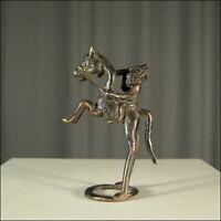 51798) Afrikanische Reiter-Figur Bamun Kamerun Afrika KUNST