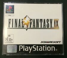 Final Fantasy 9 IX - Playstation 1 PS1 Game PAL Version - Good Condition