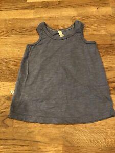 Childhoods Clothing Blue Ringer Tank Top 5T Toddler Shirt Soft