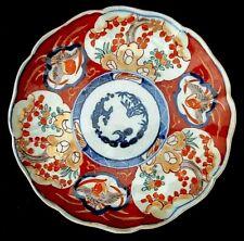 *  ASSIETTE en PORCELAINE  - IMARI - XX°  Japanese Porcelain