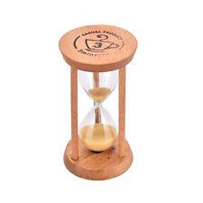 3 Mins Wooden Frame Sandglass Sand Glass Hourglass Timer Clock Decor  PR
