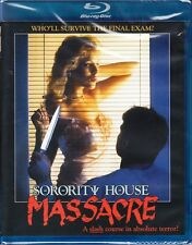 SORORITY HOUSE MASSACRE cult *BLU-RAY NEW OOP* Horror *80's SLASHER*  Scorpion