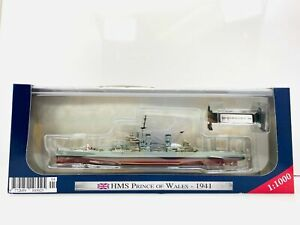 HMS Prince of Wales 1941 WWII Battleship Model 1:1000 Scale