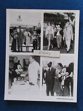 "Original Press Promo Photo - 10""x8"" - Mickey Mouse - 1988 - VIPs - Bob Hope"