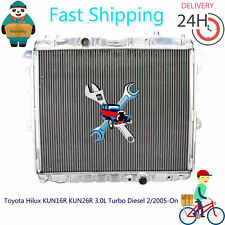 Premium Radiator Toyota Hilux KUN16R KUN26R 3.0L Turbo Diesel 2/2005-On Manual