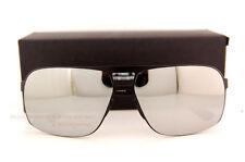 New Porsche Design Sunglasses P8579 8579 B Black/Silver Mirror Men Women
