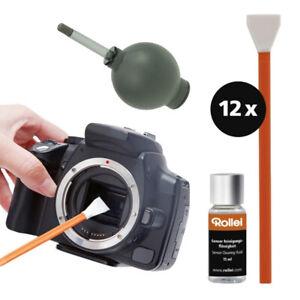 Rollei Sensorreinigung Reinigungsset Canon Nikon Sony Kameras Vollformat Sensor