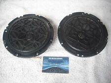 2 X  GENUINE PEUGEOT 607 FRONT DOOR RADIO SPEAKERS 9635014780  HARMAN BECKER
