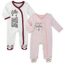 NBA Baby Cleveland Cavaliers - Set of 2 Coveralls - 0-3 Months (Pink)