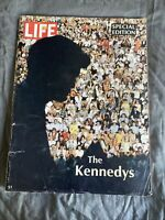 Life Magazine 1968 The Kennedy's Special Edition JFK Pictures Articles Jackie+