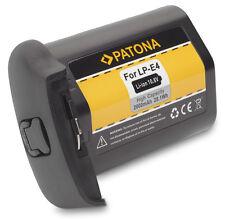 Batteria Patona HQ LP-E4 LPE4 per CANON EOS 1D Mark III, EOS 1Ds Mark III