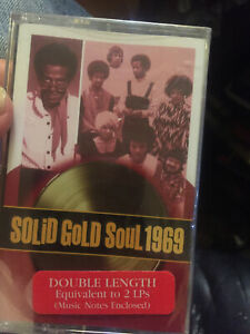 Solid Gold Soul 1969---time life new sealed cassette