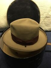 Vintage Mac Lachlan Air-Vac Men's Hat Size 6 7/8 In A Disney Hats NY Hat Box.