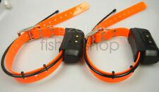 2*EUR ver Garmin DC40 GPS dog Tracking Collar for Astro220/320  new orange strap