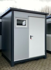 Sanitärcontainer Toilettencontainer WC Kabine Container Toilettenhaus Urinal