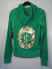 NWT Juicy Couture Tracksuit  Essex Leafy JC Original Jacket Velour Hoodie