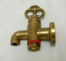 Vintage Greek Small Solid Brass Spigot Faucet #2