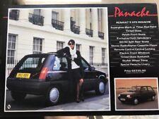 Car Brochure - 1986 Renault 5 Panache - UK