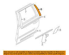 VOLVO OEM 03-14 XC90 Exterior-Rear-Applique Window Trim Left 30796197