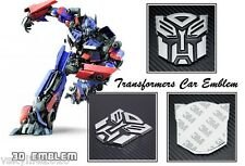Transformers Autobots 3D Chrome Car Emblem Badge Metal Decal Logo Truck Bike New