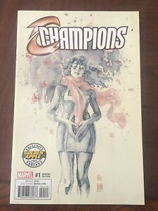 CHAMPIONS 1 VOL 2 DAVID MACK GOLDEN APPLE VARIANT