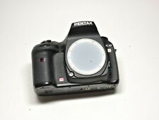 PENTAX K10D 10.2MP DSLR Camera Black (Body Only) + Charger, Battery, Box & More