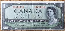 "Canada 1954 Dollar ""Devils Face�"