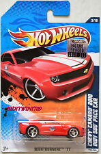 HOT WHEELS 2011 NIGHTBURNERZ CHEVY CAMARO 2010 INDY 500 PACE CAR FACTORY SEALED