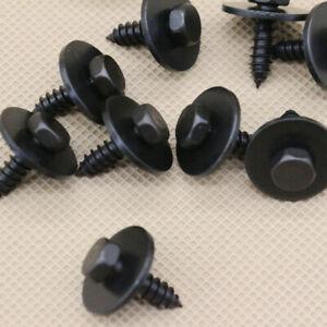 10pcs For BMW Hex Head Metal Screw 4.8 X 16 mm OEM# 07147129160