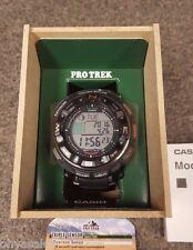 Casio Pro Trek Pathfinder Black Tough Solar Wrist Watch - PRW2500R-1