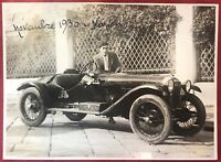 Napoli novembre 1930 Automobilismo fotografia 15X11 cm automobile