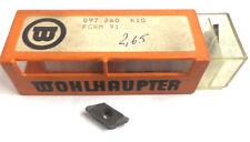 8 Stechplatten Einstechen Form 91 097260 K10 von Wohlhaupter Neu H11991