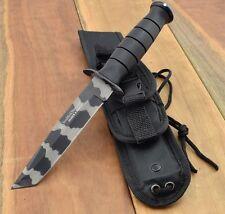Couteau Smith&Wesson Search & Rescue Tanto Acier 7Cr17 Manche Abs Etui SWSURTCCP