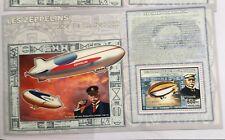 Congo - MNH - Zeppelin Air Ship - one miniature sheet- #1936