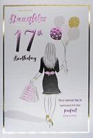 Daughter 17th Birthday Card