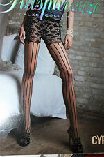 """TRANSPARENZE CYPRUS tights pantyhose size 2  Height 5'5""""- 5'9"""""""