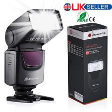 Flash Gun Speedlite Speedlight for Canon Nikon DSLR Camera Fujifilm Pentax Olymp