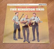 The Kingston Trio - College Concert = Stereo
